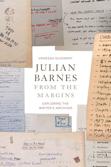 Julian Barnes from the Margins cover