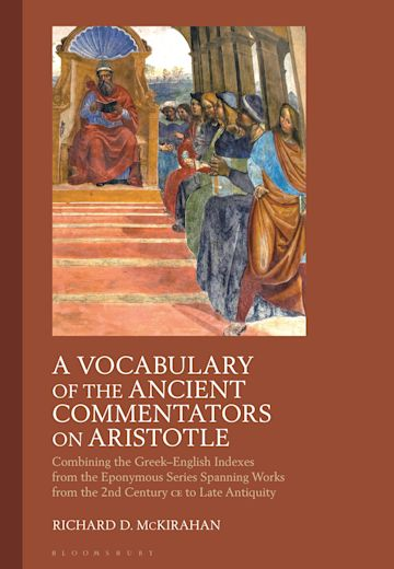 A Vocabulary of the Ancient Commentators on Aristotle cover