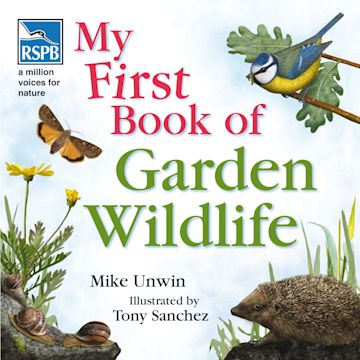 RSPB My First Book of Garden Wildlife cover