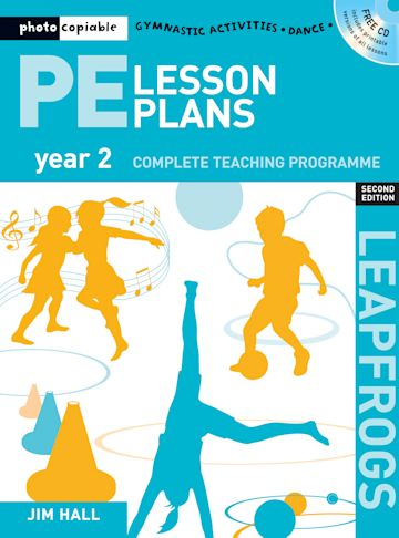 PE Lesson Plans Year 2 cover