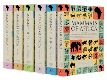 Mammals of Africa cover