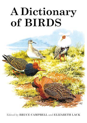A Dictionary of Birds cover