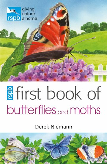 RSPB First Book of Butterflies and Moths cover