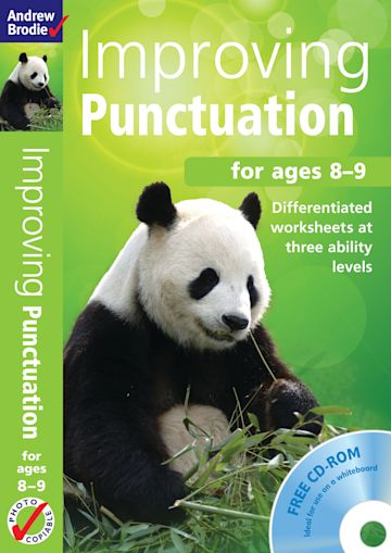 Improving Punctuation 8-9 cover