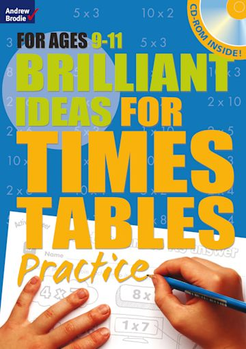 Brilliant Ideas for Times Tables Practice 9-11 cover