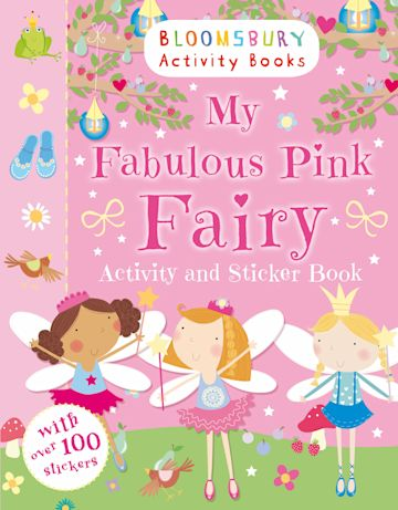 My Fabulous Pink Fairy Activity and Sticker Book cover