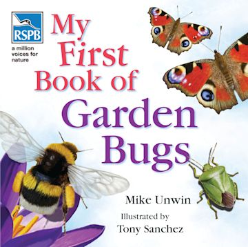 RSPB My First Book of Garden Bugs cover