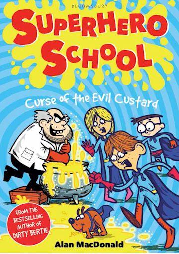 Curse of the Evil Custard cover