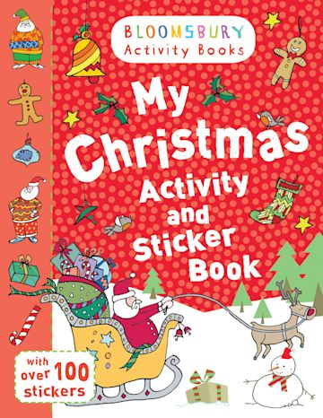 My Christmas Activity and Sticker Book cover