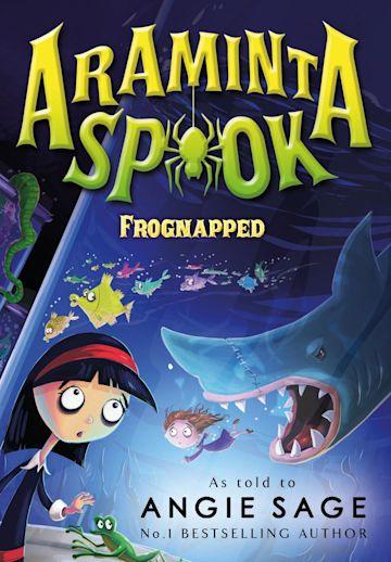 Araminta Spook: Frognapped cover