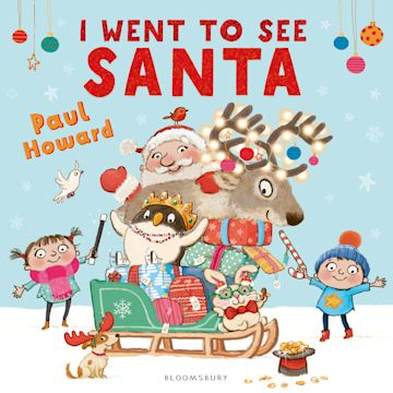 I Went to See Santa cover