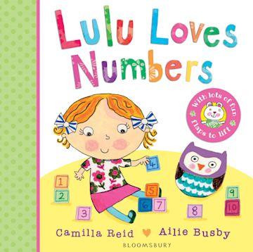 Lulu Loves Numbers cover
