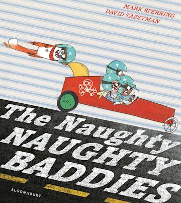 The Naughty Naughty Baddies cover