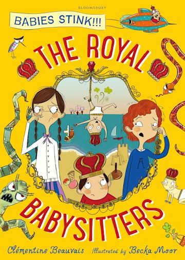 The Royal Babysitters cover