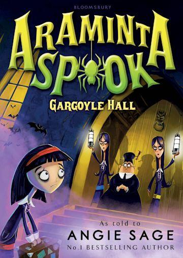Araminta Spook: Gargoyle Hall cover