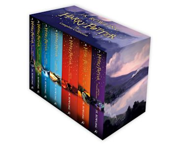 Harry Potter Box Set: The Complete Collection (Children's Paperback) cover