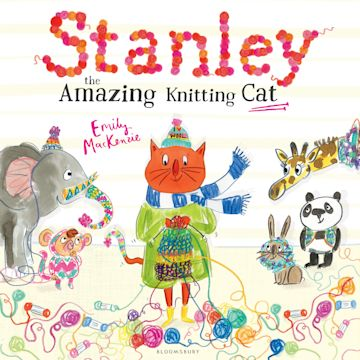Stanley the Amazing Knitting Cat cover