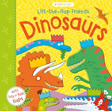 Lift-the-flap Friends Dinosaurs cover