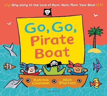 Go, Go, Pirate Boat cover