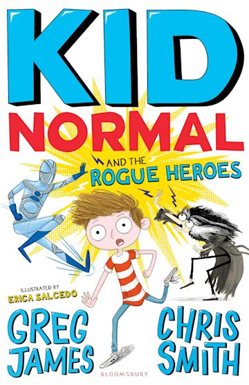 Kid Normal and the Rogue Heroes: Kid Normal 2 cover