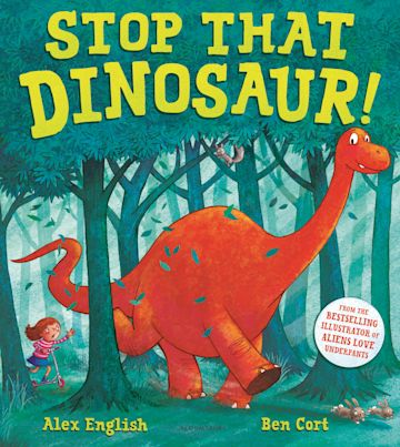 Stop That Dinosaur! cover