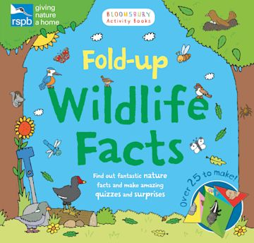RSPB: Fold-up Wildlife Facts cover