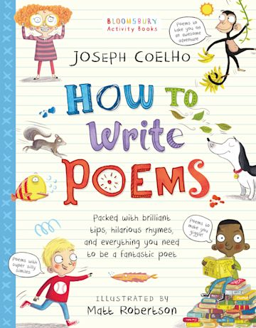 How To Write Poems cover