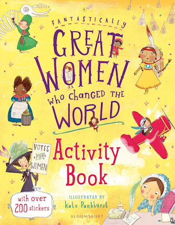 Fantastically Great Women Who Changed the World Activity Book cover