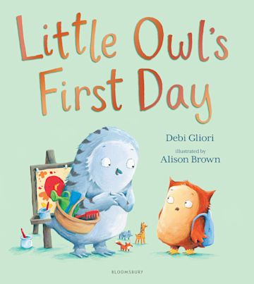 Little Owl's First Day cover