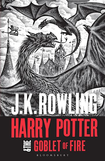 Harry Potter and the Goblet of Fire cover