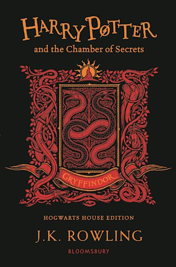 Harry Potter and the Chamber of Secrets – Gryffindor Edition cover