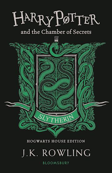 Harry Potter and the Chamber of Secrets – Slytherin Edition cover