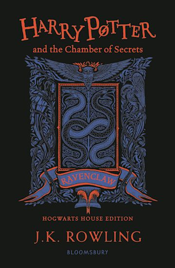 Harry Potter and the Chamber of Secrets – Ravenclaw Edition cover