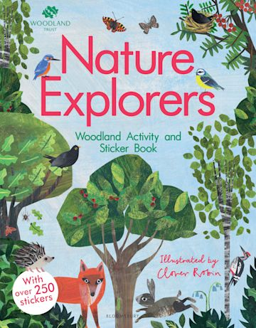 The Woodland Trust: Nature Explorers Woodland Activity and Sticker Book cover
