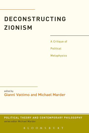 Deconstructing Zionism cover