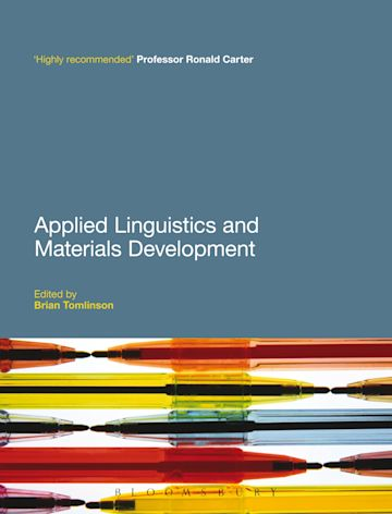 Applied Linguistics and Materials Development cover
