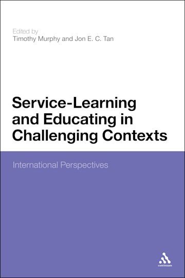 Service-Learning and Educating in Challenging Contexts cover