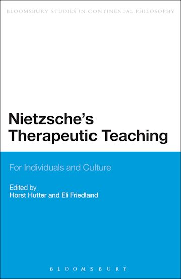 Nietzsche's Therapeutic Teaching cover