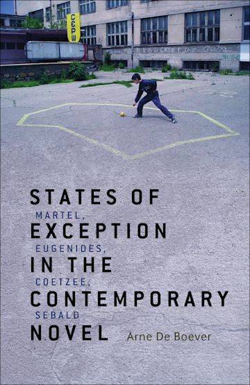 States of Exception in the Contemporary Novel cover