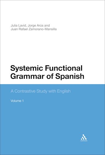 Systemic Functional Grammar of Spanish cover