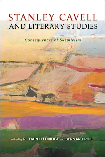 Stanley Cavell and Literary Studies cover