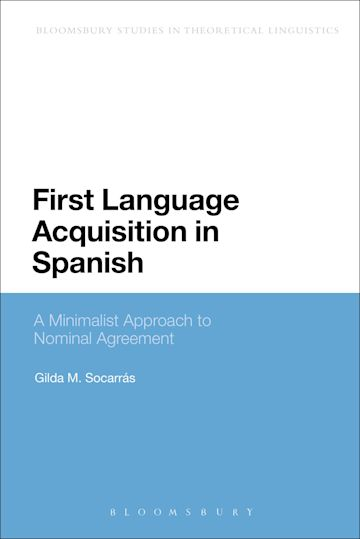 First Language Acquisition in Spanish cover