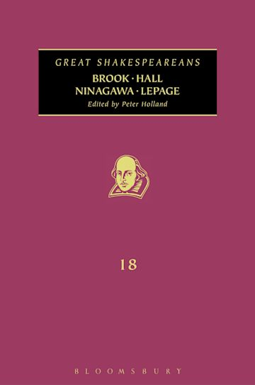 Brook, Hall, Ninagawa, Lepage cover