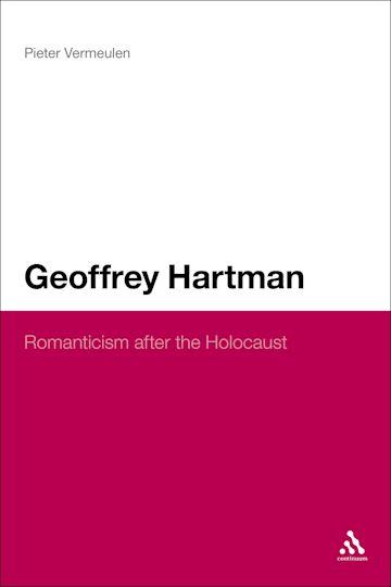 Geoffrey Hartman cover