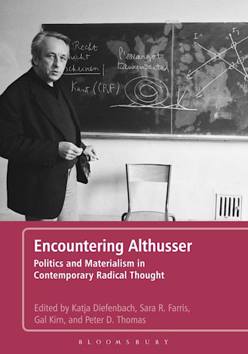 Encountering Althusser cover