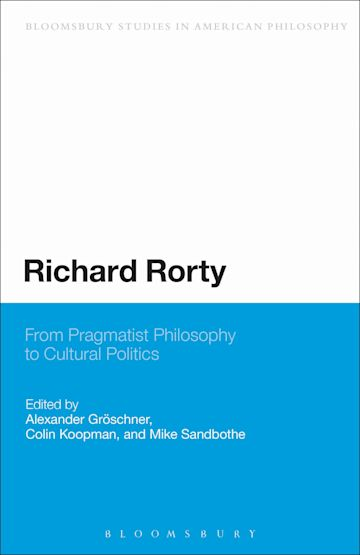 Richard Rorty cover
