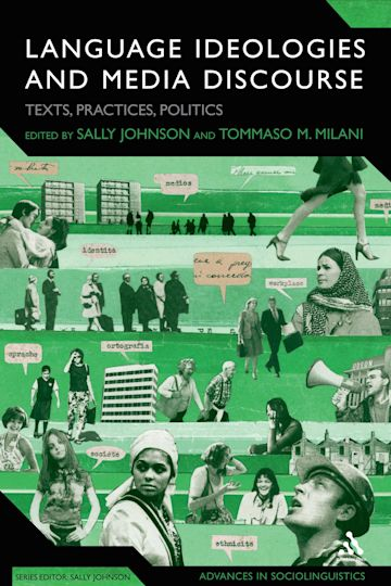 Language Ideologies and Media Discourse cover