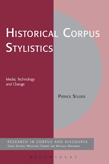 Historical Corpus Stylistics cover