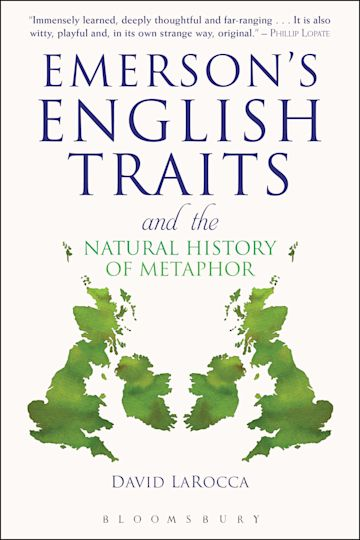 Emerson's English Traits and the Natural History of Metaphor cover
