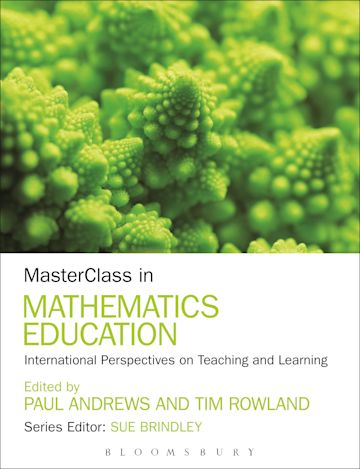 MasterClass in Mathematics Education cover